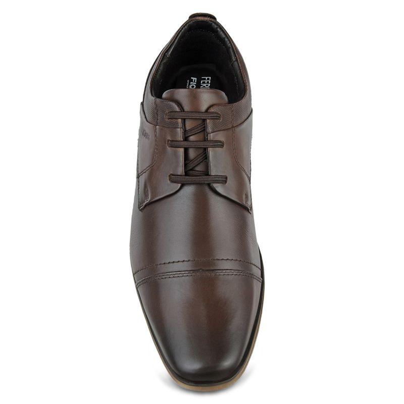 Sapato-Casual-de-couro-Derby
